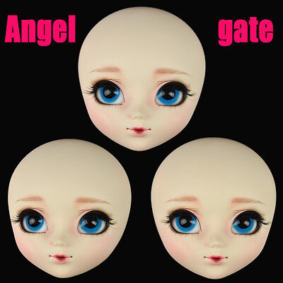 AngelGate OOAK Girl Doll Head-Catherine fit for the barbie pullip obitsu body