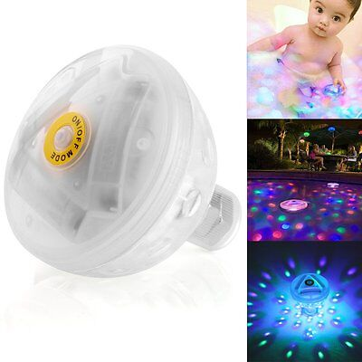 LED Floating Light Underwater Aqua Glow Swimming Show Pond Pool SpaTub Lamp