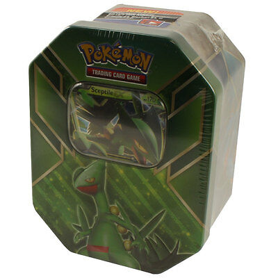 Pokemon XY - 2015 Collectors Tin Set - Hoenn Power - SCEPTILE EX - New Sealed