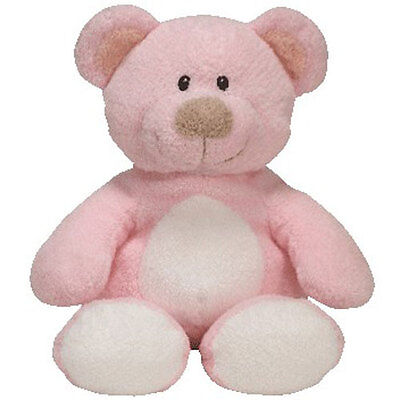 Baby TY - BABY PINK the Bear (10 inch) - MWMTs BabyTy Stuffed Toy