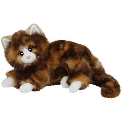 TY Classic Plush - JUMBLES the Marble Cat (13 inch) - MWMTs Stuffed Animal Toy