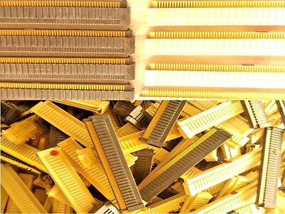 10 Old Connectors With 1500 Pins For Gold Recovery Scrap