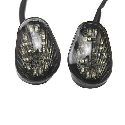 Motorcycle Amber LED Turn Light Lamp Blinker for Yamaha YZF R1 R6 R6S
