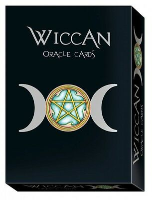 """wiccan Oracle Cards"" By Nada Mesar & Lunaea Wheaterstone"