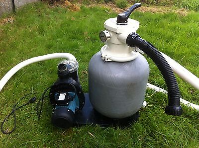 Swimming Pool Filter & Pump - Mega Sand Filter And Pump Combo