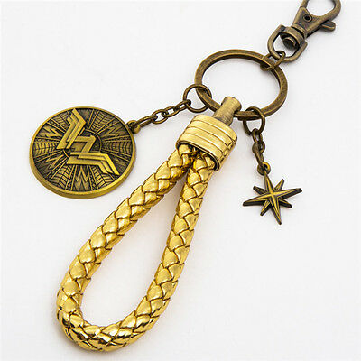 Justice League Diana Prince Wonder Woman Cosplay Keychain Keyring
