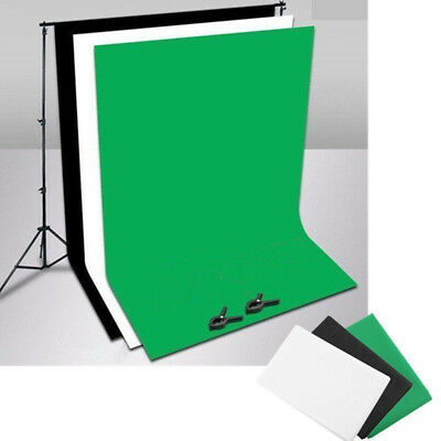 Pro Studio Photo Backdrop Background Screen Stand Black White Green Back Chroma
