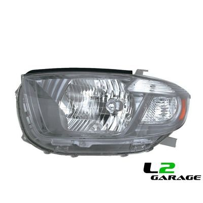 Fits Toyota 08-10 HIGHLANDER SPORT Headlight Head Lamp UNIT LH Left Driver Side