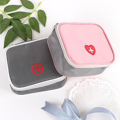 Mini Portable Medicine Storage Bag First Aid Medical Kits Organizer Household