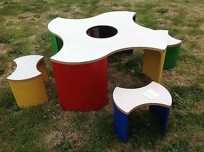 LEGO Official Table and Stools Chairs Furniture Duplo