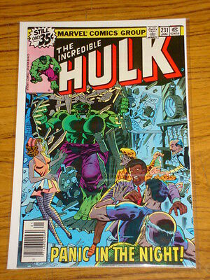 Incredible Hulk #231 Vol1 Marvel Comics January 1979
