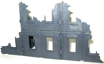 Scorched city, 28mm modular wargaming terrain set of 5 sprues Sci-fi Historical