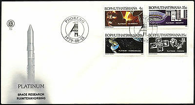 Bophuthatswana 1979 Platinum Industry FDC First Day Cover #C41522