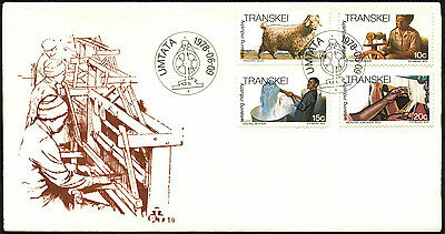 Transkei 1978 Weaving Industry FDC First Day Cover #C41529