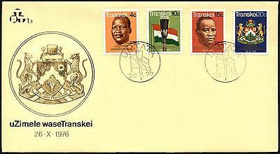 Transkei 1976 Independence FDC First Day Cover #C41524