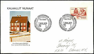 Greenland 1979 Knud Rasmussen FDC First Day Cover #C41437
