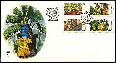 Venda 1980 Banana Cultivation FDC First Day Cover #C41535