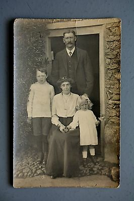 R&L Postcard: Social History, Edwardian Photo, Family, Great Fashions Clothes