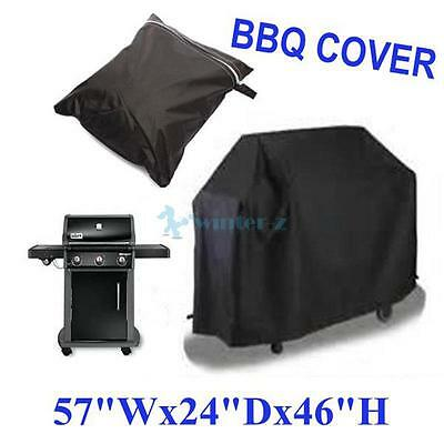 Waterproof Large BBQ Cover Outdoor Barbecue Garden Patio Grill Black