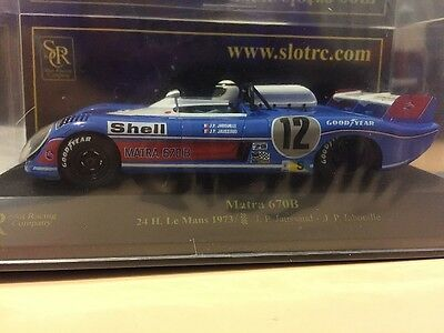 01104 Src Matra 670B 1973 Lemans 24Hour Slot Car 1:32 Only 1020 Made Ltd Ed.