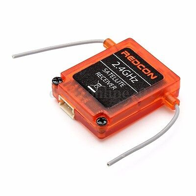 Redcon 2.4G DSM2 DSMX Satellite Receiver 3.3V 6g For JR Spektrum Transmitter
