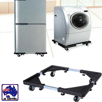 Movable Base Bracket Stand with Wheels Washing Machine Refrigerator HWFR57105