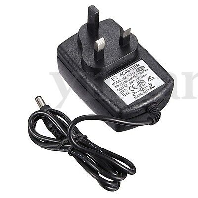 UK Plug 3V-24V 1-3A AC/DC Power Supply Adapter Charger 2.5/2.1mm x 5.5mm NEW
