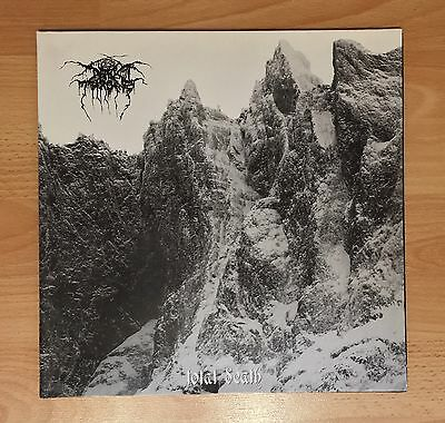 "DARKTHRONE ""TOTAL DEATH"" LP vinyl first press 1996 rare black metal Dark Throne"