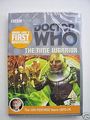 Doctor Who - Time Warrior (DVD, 2007) - Jon Pertwee - NEW and SEALED