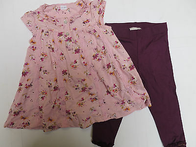 Girls dress floral legging outfit set  NEXT baby age 1.5  2  3 4 5 years NEW