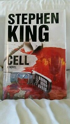 CELL U.S signed by Stephen King