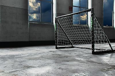 6ft x 4ft Blackout SAMBA Football Goals | Home Goal | Next Day Delivery