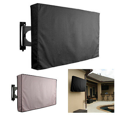 30''-70'' TV Cover Outdoor Waterproof Protector For All Sizes LCD LED Plasma