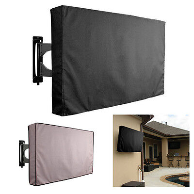30''-70'' TV Cover Outdoor Weatherproof Protector For All Sizes LCD LED Plasma