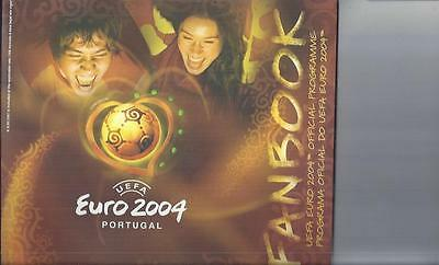 Euro 2004 Final Football Programme + Fanbook