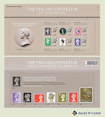 2017 The Machin Definitive 50th Anniversary Presentation Pack PP513 (no.541)