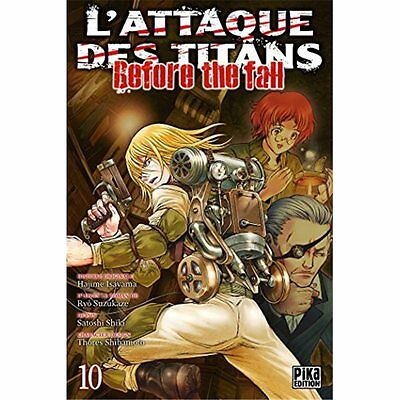 Manga - L'Attaque des Titans - Before the Fall T10
