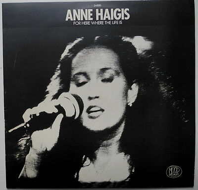 Lp De**anne Haigis - For Here Where The Life Is (Mood Records '81)***19654