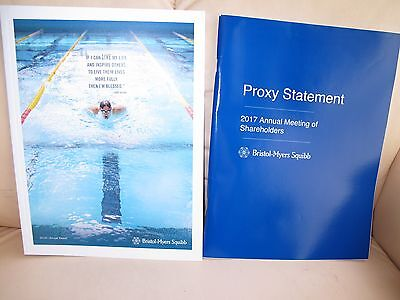 Bristol-Myers Squibb 2016 Annual Report, Proxy, 2017 Meeting Notice