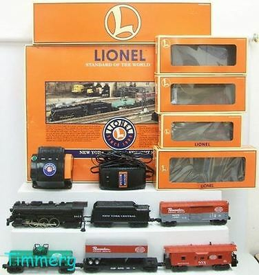 Lionel 6-21956 New York Central Freight Set 4-6-4 Steam Loco Signal Sounds MIB *