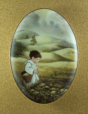 Murals From The Precious Moments Chapel Collection THE SOWER OF SEEDS Plate +COA