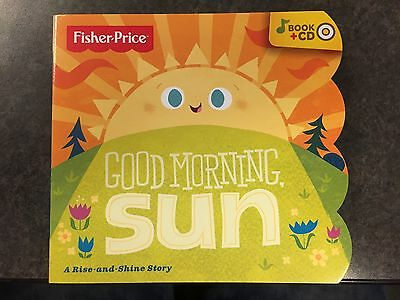 Fisher-Price® Good Morning Sun Book and CD, Brand New