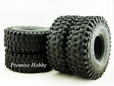 120mm OD crawler tire tyre set (4pcs) for 1.9 wheels 1/10 rc crawlers cars -T2