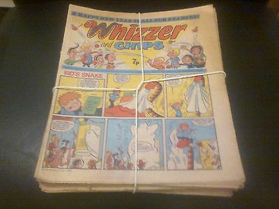 20 Whizzer And Chips Comics