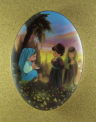 Murals From Precious Moments Chapel DEBORAH THE ONLY WOMAN JUDGE OF ISRAEL Plate