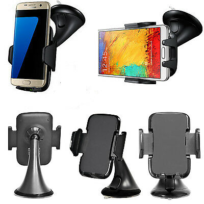 Universal 360° Rotating In car Cell Mobile Phone GPS holder Mount cradle Stand