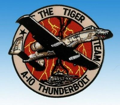 "Patch A-10 Thunderbolt The tiger Team ""NEUF"""