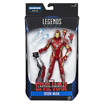 Marvel Legends Captain America - Civil War / Iron Man / 6 Inch