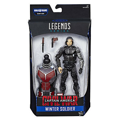 Marvel Legends Captain America - Civil War / Winter Soldier / 6 Inch
