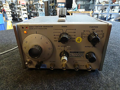 HP Agilent Keysight 3310A Function Generator w/ power cable